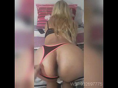 Video porno travesti loira transando com vontade