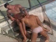 Cenas de baitolas dando uma foda em hotel