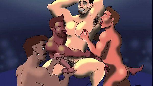 Gay cartoon porno grátis online